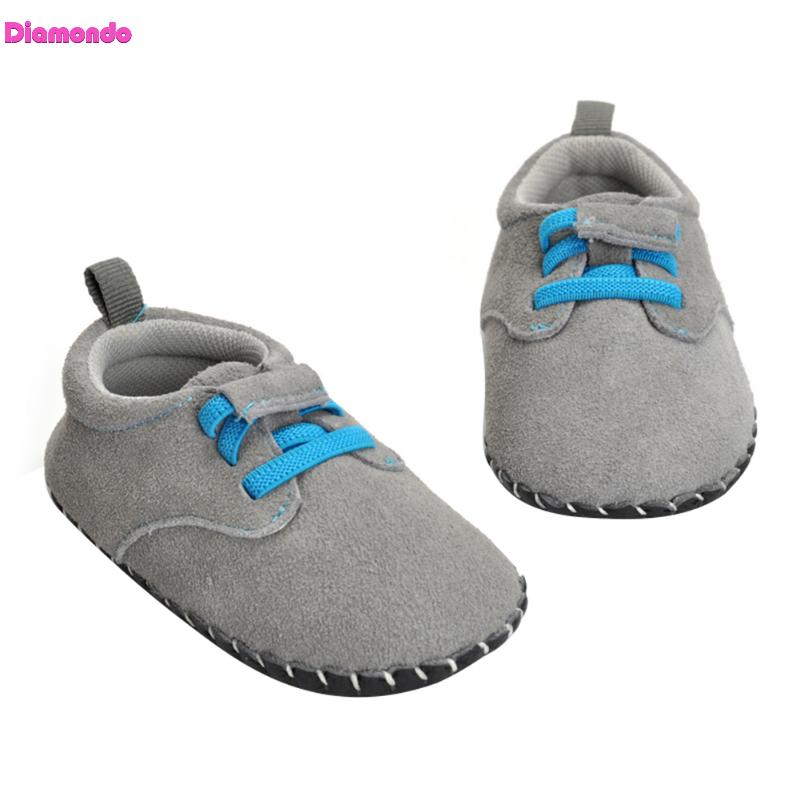Fashion Prewalker Toddler Genuine Nubuck Leather First Walkers Sneakers Baby Moccasins Infant Girl Boy Soft Sole Anti-slip Shoes