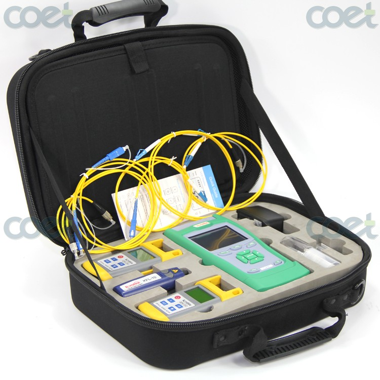 Optical Fiber Toolkit KQX-40 Fiber Optic Test Kits with OTDR / Optical time domain reflectometer/OPM/ OLS/VFL