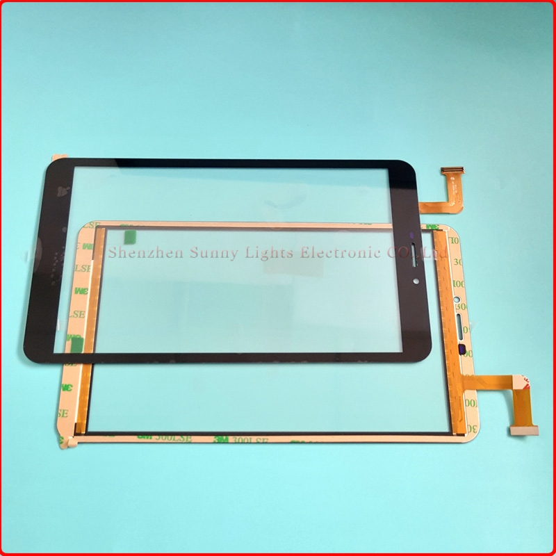 New touch screen For 8 ARCHOS 80b Xenon 3G Tablet Touch panel Digitizer Glass Sensor Replacement Free Shipping original new touch screen 10 1 archos 101b xs2 tablet touch panel digitizer glass sensor replacement free ship