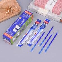 Купить онлайн Новое поступление синий и белый фарфор 20 палочки трения кисть 0,5 мм ручка кристалл синий студент стираемая гель-ручка