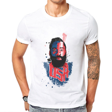 New Summer James Harden Men T Shirt Short Sleeve 100% Cotton O-Neck Star Character Hipster T-shirt Mens Clothings Man Tee Shirts