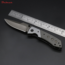Dcbear New Tactical Knife Folder Faca Militar Hunting Knife 8CR13MOV Survival Knives 58HRC Camping Equipment