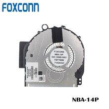 FOXCONN Процессор вентилятор охлаждения для HP Pavilion X360 14 м 14M-BA011DX 924281-001 аккумулятор большой емкости 023.1008S.0011