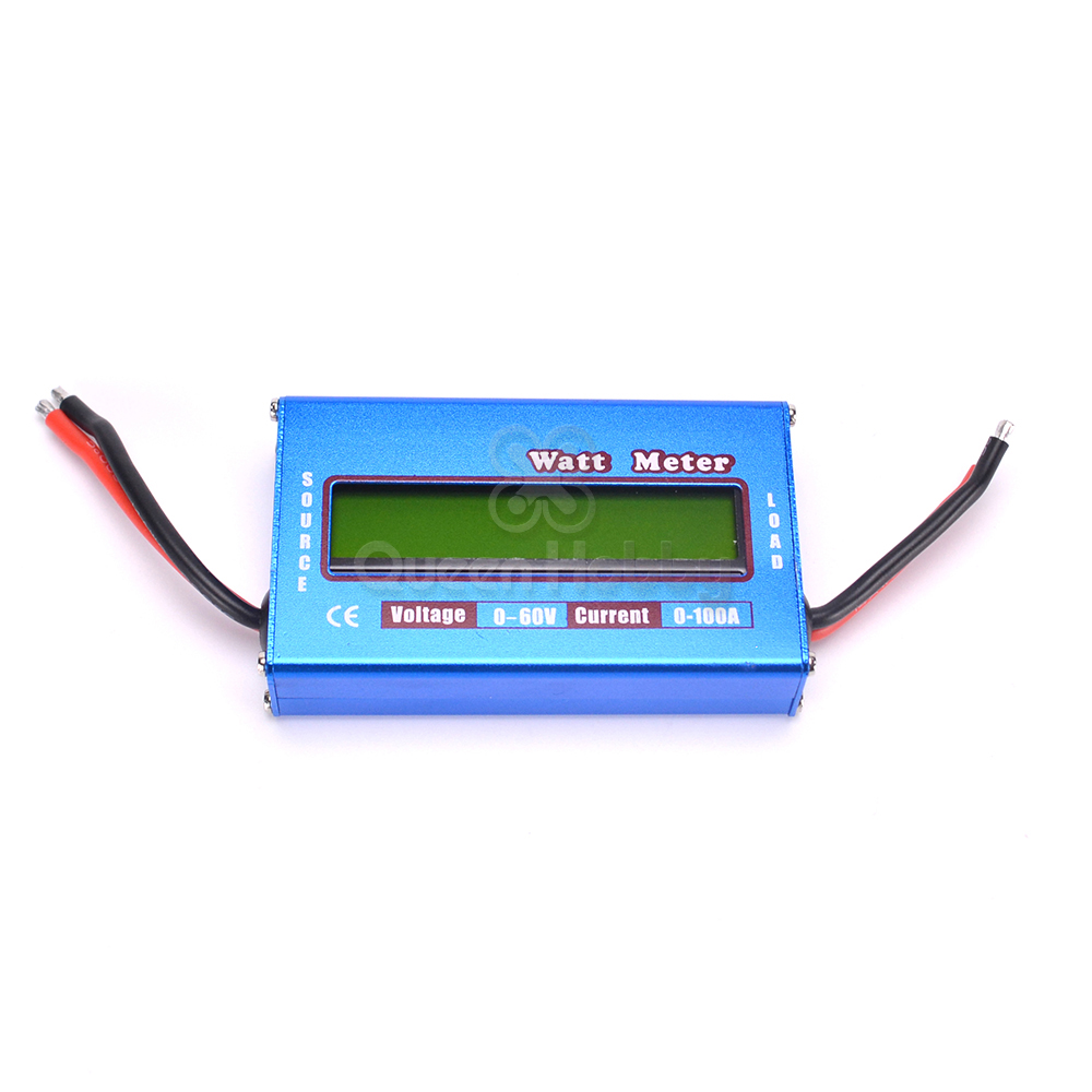 Buy Digital Lcd Screen 100a 60v Dc Rc Helicopter Watt Meter Voltage Current Power Balancer Battery Analyze Airplane Analyzer For Hobby From Reliable