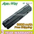 Apexway novo 6600 mah bateria de 9 células laptop xps xps 14 15 para dell l401x l501x l502x l521x 17 l701x 3d L702x