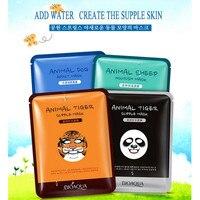BIOAQUA Tiermaske Vier Nette Arten Öl Feuchtigkeitsspendende steuer Gesichtsmaske Hund/Panda/Schafe/Tiger Stile Gesichtsmaske 10 Stücke