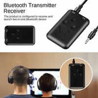 Adaptador de Audio 3,5mm música adaptador USB 2in1 Bluetooth 4,2 transmisor y receptor estéreo
