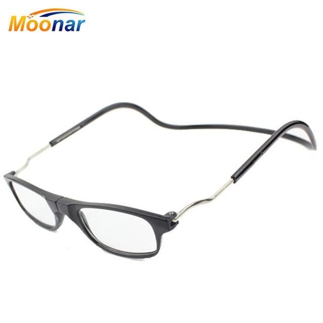 5f30a2f9c65 Magnetic Reading Glasses Men Women Hanging Neck Folding Glasses Magnetic  Eyeglass Plastic Frames magnet Gafas De Lectura Oculos