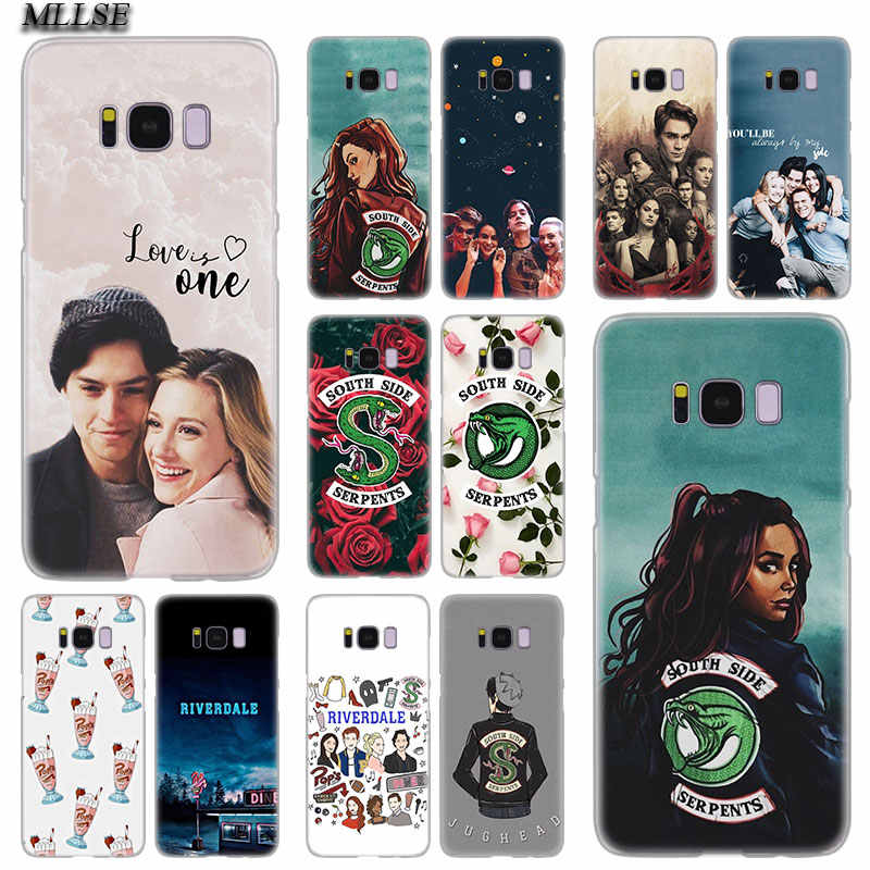 MLLSE Riverdale South Side Serpents you and me Hard Case Cover for Samsung Galaxy S10 Lite S9 S8 Plus S7 S6 Edge S5 S4 Mini