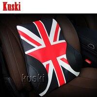 NEW 1pc Comfortable Car Waist Cushion For Ford Focus 2 3 Fiesta Mondeo Kuga Fusion Ecosport Seat Leon Ibiza Altea Saab 9 3 9 5