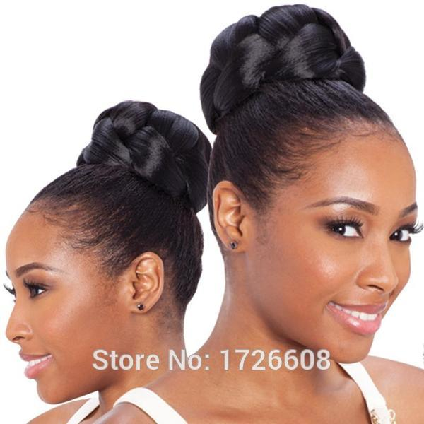 2016 Fake Hair Buns For Black Women Hair Make Up Chignon Hairpiece Freetress Equal Synthetic Hair Bun Updo Free Shipping Hair Piece Bun Hair Diskhair Factories In China Aliexpress