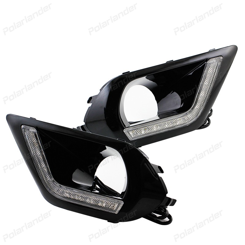 Newest top quality drl daytime running lights for s/ubaru f/orester 2013 2014 2015 car led light