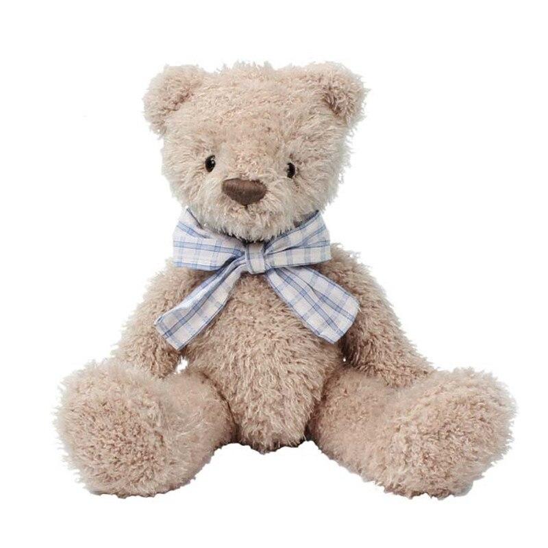 21 см мягкий коричневый медведь, плюшевые игрушки, мишки, куклы, милый Мишка, мягкая плюшевая игрушка, дети, милый Мишка, игрушка для детей, игр...