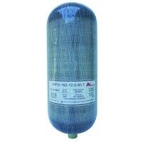 Chine fournisseurs 4500psi 30Mpa 12L En Fiber De Carbone Cylindre/PCP Paintball Réservoir/Plongée sous-marine Réservoir pour vente-E
