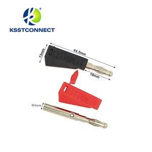 Image 5 - TL090 4mm muz fiş 16AWG test istiflenebilir muz fiş test kablo test uçları