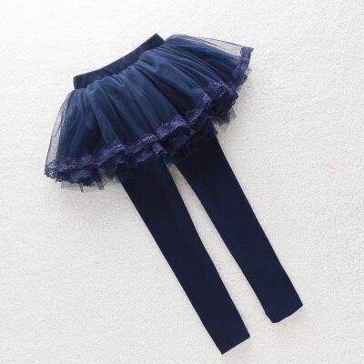 ab614121 V TREE Girl legginsy koronkowe legginsy dla dziewczynek bawełniane ...