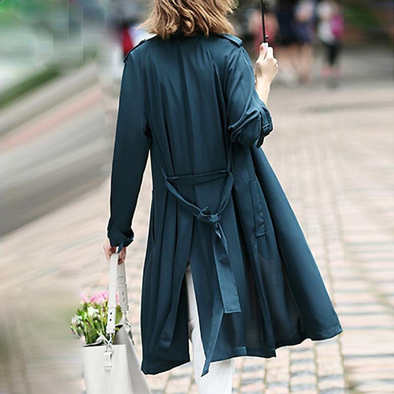 vert Ceintures Dustcoat Conception 2018 3 Nouvelle Mode Printemps Soie Tranchée Windcoat corail Manteau Rouge Femmes Couleurs 100 Breasted Lourde Classique Double Noir 8qwHPH0