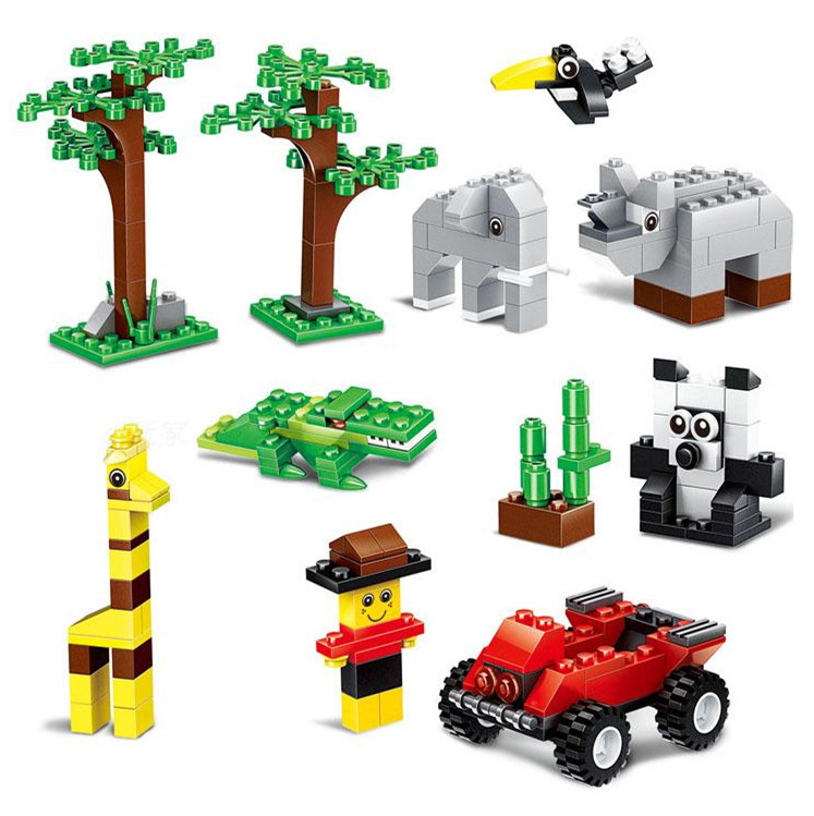 Building Blocks 625pcs DIY Creative Bricks Toys for Children Educational Toys Compatible  Bricks brinquedos Christmas gift 2016 new sluban 0502 building blocks 415pcs diy creative bricks toys for children educational bricks brinquedos legeod