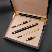 1 Set High Quality Luxury Metal Iraurita Fountain pen Business Signature pen for Gift is preferred 03863
