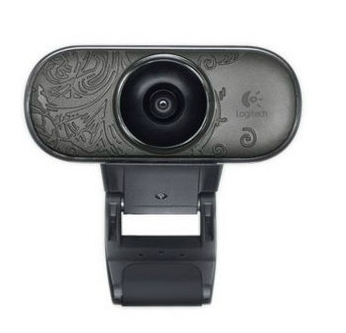 Newest logitech c210 webcam with microphone auto focusing for Camera tv web