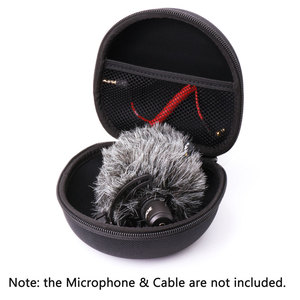 Image 5 - Ulanzi AriMic מיקרופון נייד מגן תיבת מגן קשיח מקרה פאוץ אחסון תיק עבור Arimic Rode Videomicro מיקרופון