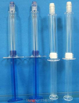 10ML 50pcs/lot Empty Cosmetic Liquid Refillable Syringe, DIY Clear Essence Eye Cream Filler, Mask Essence Skin Care Bottle