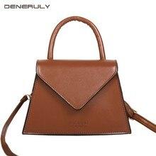 2019 Luxury Leather bags Women Handbags Designer Small Saddle Vintage Shoulder Bag Girls Tas Wanita Sac Luxe Ladies Fashion Bags