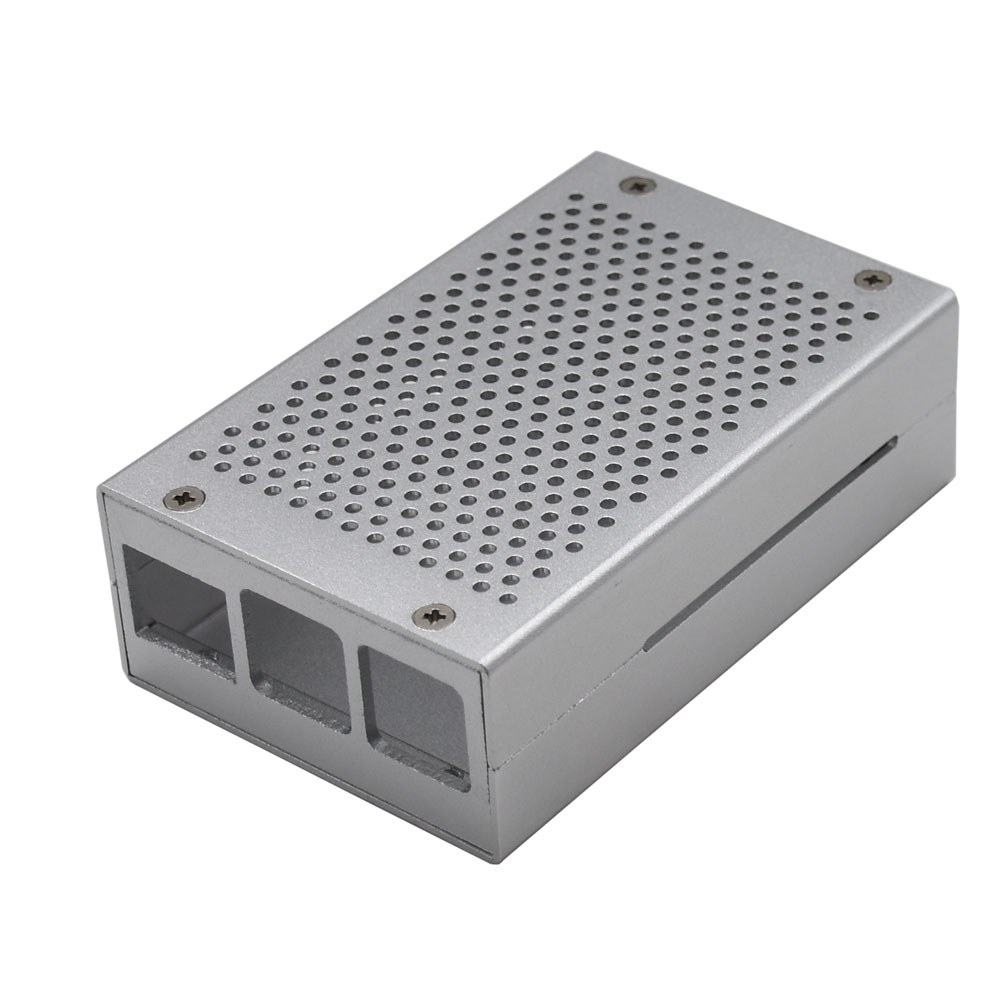 Aluminum Alloy Case Box Enclosure For Raspberry Pi 3 B+