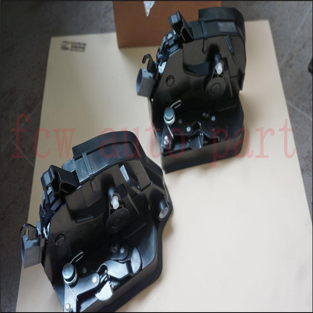 for BMW E53 X5 2000-2006 Set Pair of 2 front + rear left Integrated Door Locks Actuator 51228402601 51218402537 mzoragne pair of left