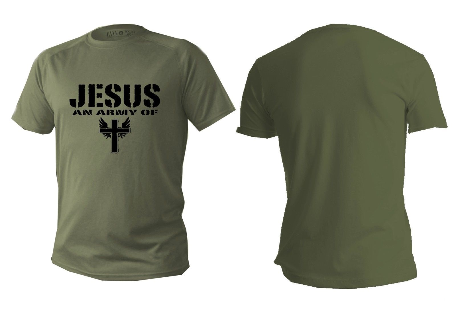 2018 New Summer Casual Men T-shirt T shirt Mens dry fit short sleeve green olive usa army military shirts man jesus