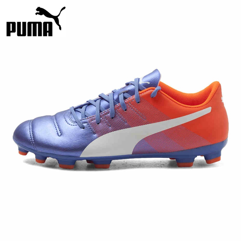 Original PUMA EVO POWER4.3AG Men's Soccer Shoes Football Sneakers tiebao a13135 men tf soccer shoes outdoor lawn unisex soccer boots turf training football boots lace up football shoes