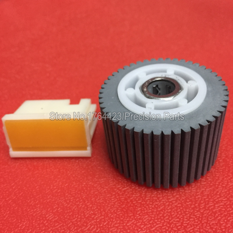 Pickup roller separation pad compatible used for ricoh DX 2430C 3443C 2432C 3442C JP780C JP785C 2set/lot
