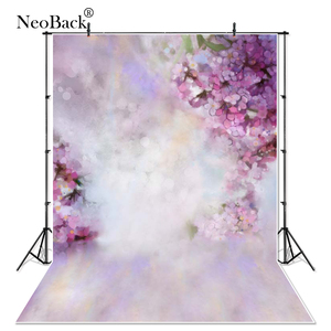 Image 1 - Thin Vinyl New Born Baby Purple Floral Petals Photography Backdrops Children backdrops Printed Photo Studio Photo backgrounds
