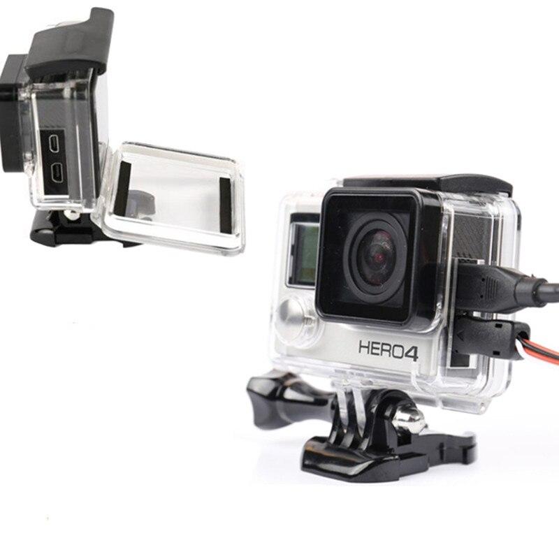 Carcasa protectora lateral abierta de esqueleto para GoPro Hero 4 3 + - Cámara y foto - foto 3