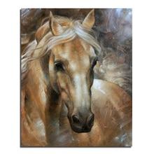 Ein pferd 40X50 3D DIY Diamant Malerei 100% voll platz bohrer Kreuzstich-stickerei strass Dekoration
