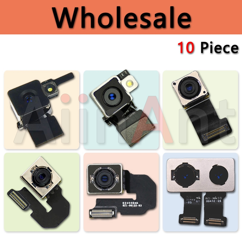 AiinAnt 10 Piece Main Big Rear Back Camera Flex Cable For iPhone 4 4s 5 5c 5s 6 6s Plus Wholesale