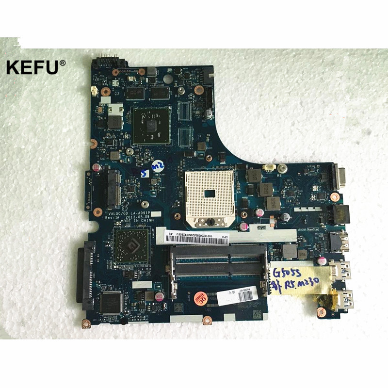 LA-A091P Laptop Motherboard Fit For Lenovo G505S Mainboard DDR3 R5 M230 2GB Full Tested OK laptop mainboard for ibm thinkpad t420 motherboard 63y1967 system board 100% tested ok