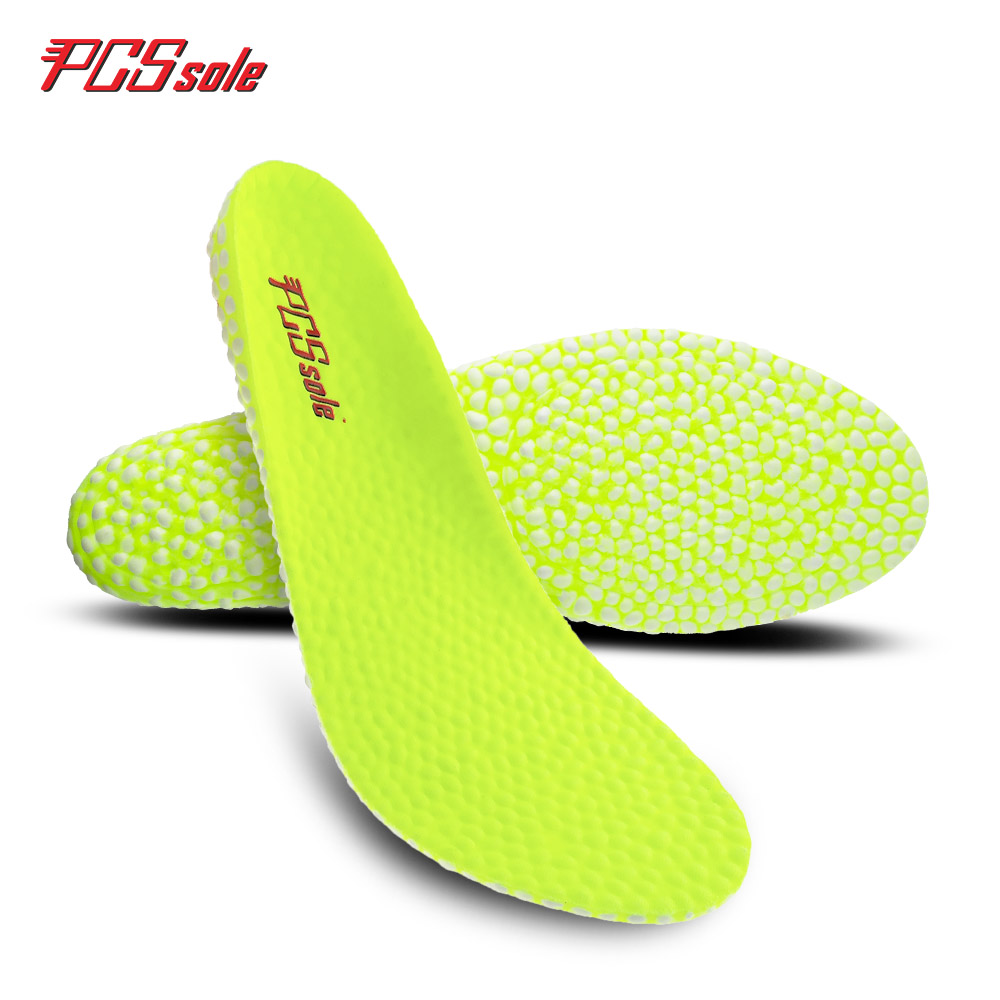 Original PCSsole boost insoles light weight shockabsorption shoes pad for man popcorn special eva inserts sports