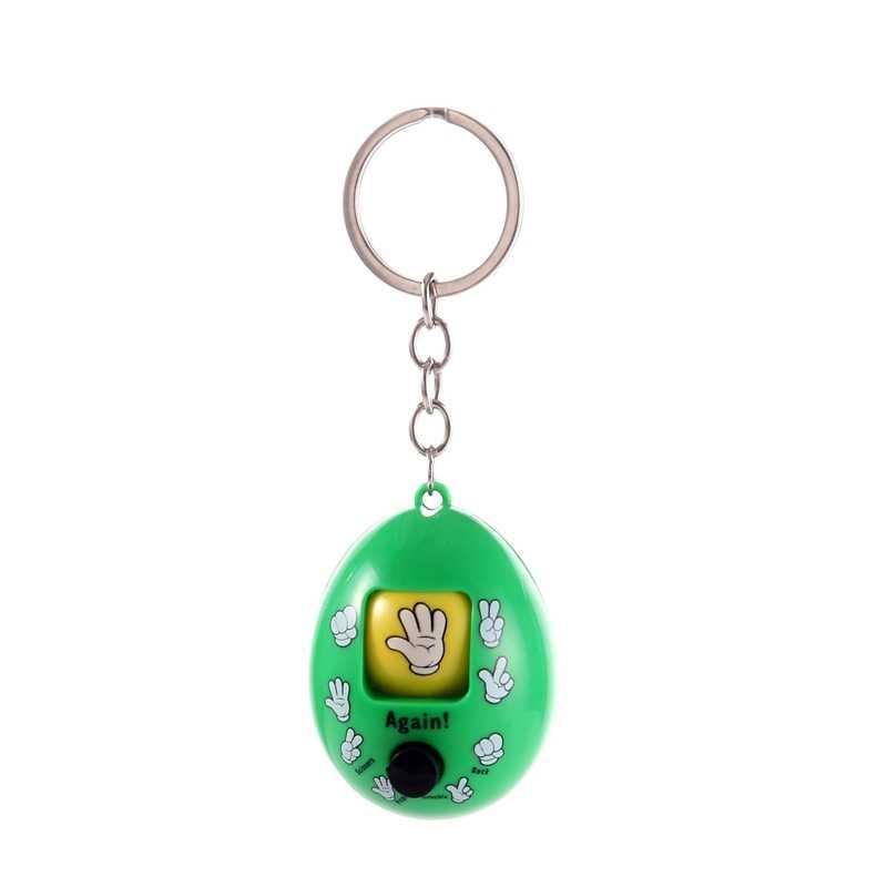 Mini Guess ของเล่นร็อคกรรไกรกระดาษเวทมนตร์ของเล่นเกมครอบครัวพวงกุญแจของเล่นเด็กตลก Anti - fall ใหม่จี้ของขวัญ - TOY151