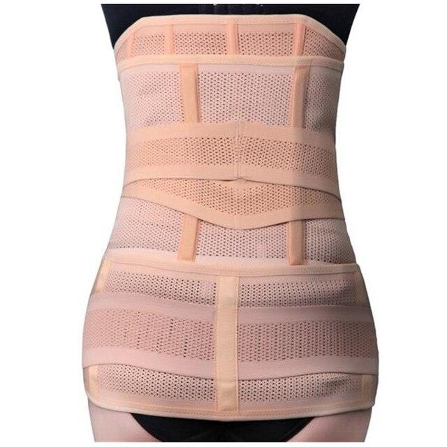 Postpartum Recovery Belt 3 Abdomen+Stomach+Elastic pelvic Waist Body Shaper Slimming Waist Trainer Belly Band ShapewearB0009