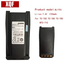 Original BL1703 li-on 7.4V 1700mAH Battery for Hytera HYT Radio TC-700,TC-780,TC-780M,TC-710 Walkie Talkie