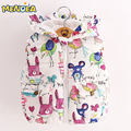 Menoea 2017 New Autumn Baby Girl Clothes  Children Clothing Outerwear&CoatsSleevele Animal Graffiti Print for Grils Jackets