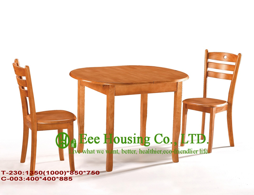 C-003,T-230 Solid Dining Chair For Sale,Solid Wood Dinning Table Furniture With Chairs, High Quality Home Furniture