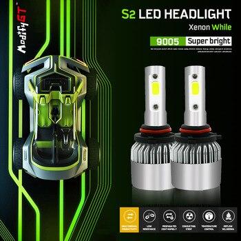 Modifygt S2 H4 led H7 led H11 H1 H3 9005 9006 72 W 8000LM 6000 K 12 V  автомобиль водить лампы Hi-Lo фары автомобиля