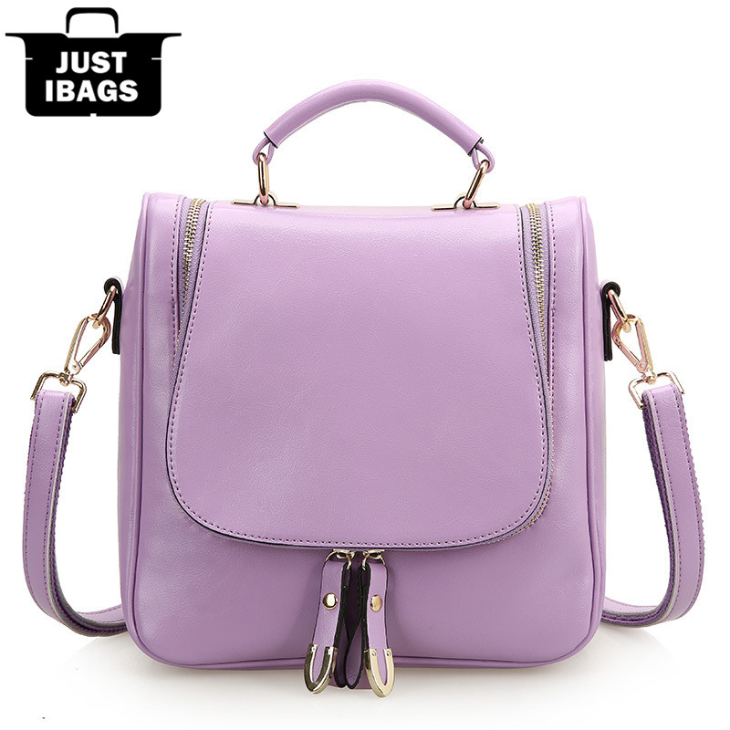 New preppy style genuine leather women backpack wax oil cowhide double shoulder bags for college school student desinger daypack 2015 new fashion designer genuine leather brand ladies preppy style women backpack school backpack women shoulder wnb069