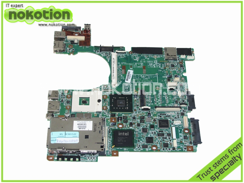 все цены на  laptop motherboard for hp elitebook 8530W 8530P 500907-001 48.4V801.031 PM45 DDR2 with graphics slot Mainboard Mother boards  онлайн