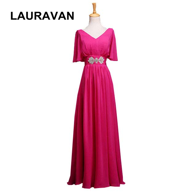 real picture robe de soiree long fuchsia womens formal gown bridal party   dress     bridesmaid     dresses   women gowns free shipping