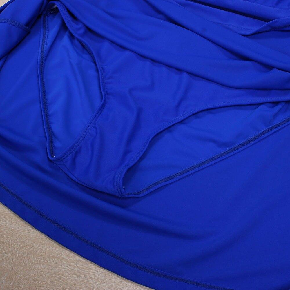Empurrar para Cima Swimsuit Swimwear Tankini Plus Size