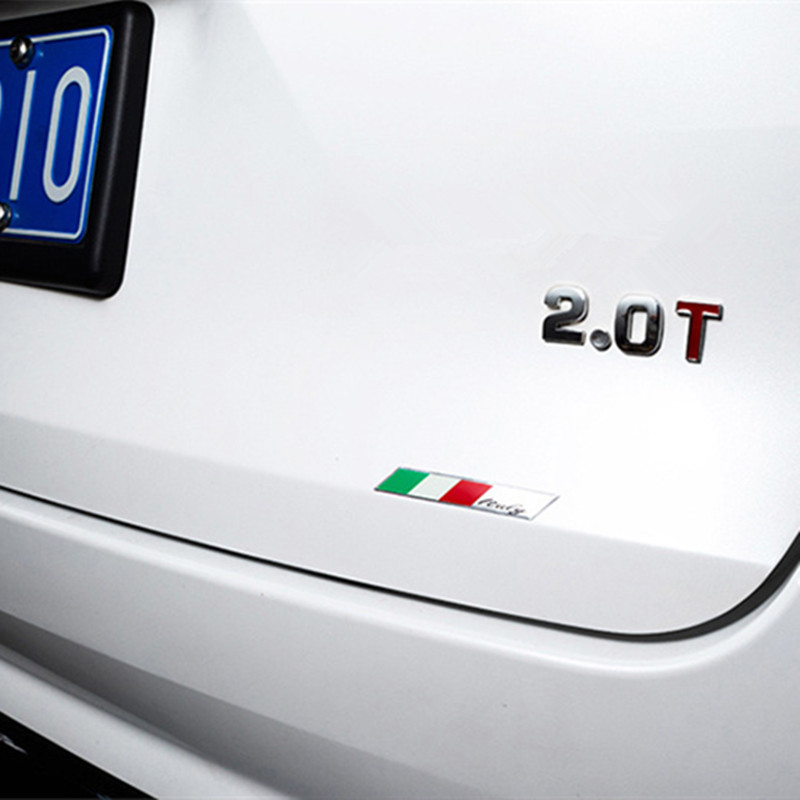 Newbee-Metal-Italy-Flag-Emblem-Badge-Car-Styling-Sticker-Decal-for-Ferrari-Maserati-Lamborghini-Alfa-Romeo
