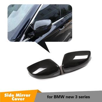 G20 Add-on карбоновые велосипедные шины волоконная зеркальная Крышка для BMW 3 серии G20 G21 Боковые Крышки заднего вида 2 шт. карбон/глянцевый черный >> JSPEED CSPORT Official Store